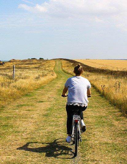 Fahrrad verleih camping de liede